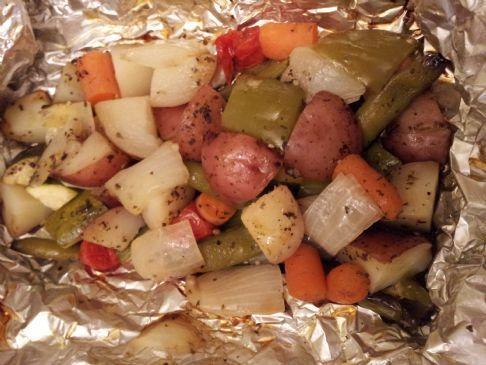 Paula's Veggie Packs for Grilling