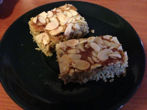 Low Carb Almond and Coconut cake