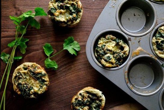 Spicy Green Egg Muffins