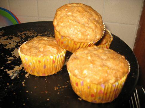 Light Banana Muffins