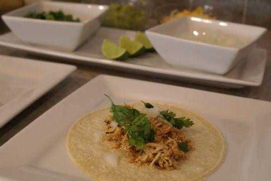 Lime-Cilantro Tacos (chicken)