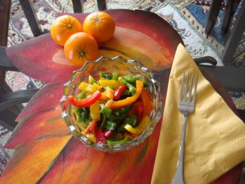 Mixed Bell Pepper Salad