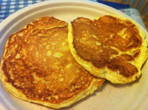Simple Protein Pancakes (Blogilates Pre-Contest Pancakes)