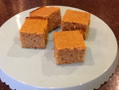 Sweet Cornbread with Sprouted Wheat
