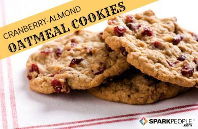 Cranberry-Almond Oatmeal Cookies