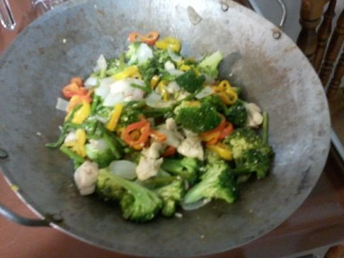 COF Broccoli Stir Fry