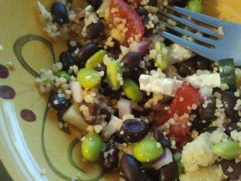 Beth's Black Bean & Couscous Salad