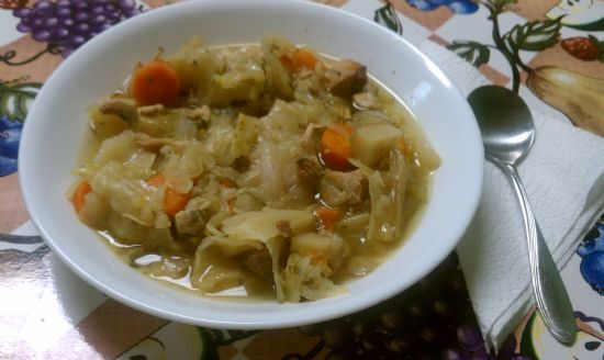 Crock Pot Chicken and Cabbage