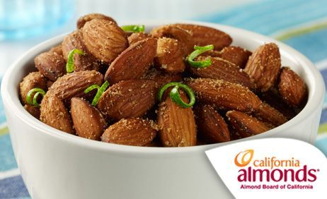 Cumin Lime Almonds