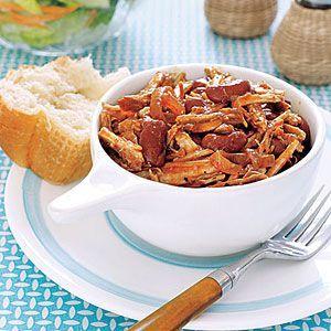 Pork Tenderloin & Beans