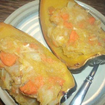 Veggie Stuffed Acorn Squash