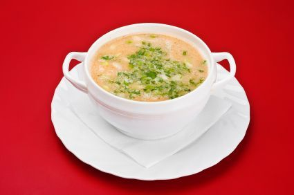 Chicken vegetable soup with quinoa