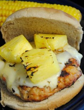 Spicy Hawaiian Burger