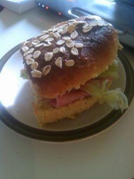 Honey Oat Sub Sandwich Bread