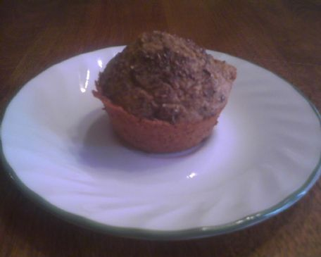 MAKEOVER: Blueberry Flax Seed Reduced Carb 100 Calorie Muffins (by GINGERSUNSHINE)