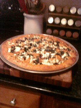Veggie, Chicken & Feta Pizza