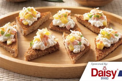 Hawaiian Snack Bites from Daisy Brand®