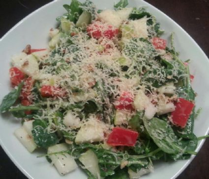 Poppy Seed Pear Salad