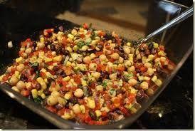 Black Bean, Corn, Tomato Bake