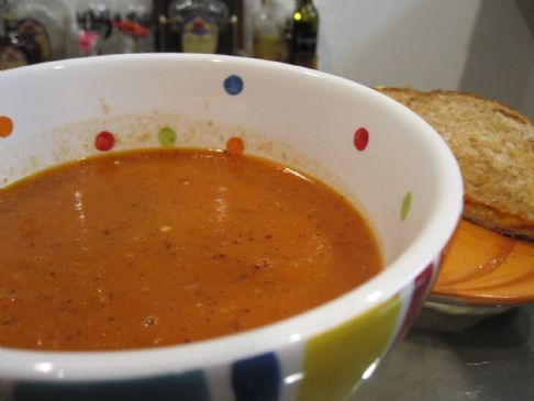 Ultimate Comfort Tomato Soup