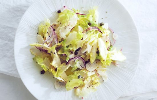 Escarole Salad with Horseradish and Capers
