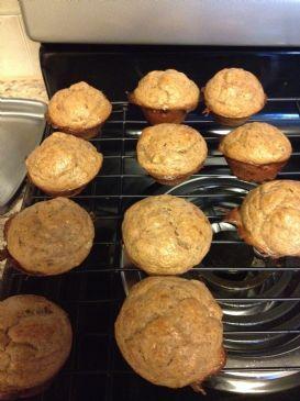 Paleo flourless banana muffins/bread