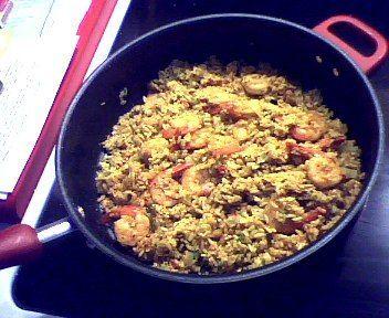 Garlic Parmesan Shrimp and Rice