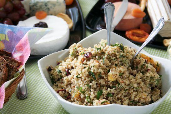 Cranberry-Orange Quinoa Salad