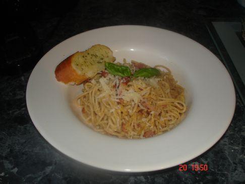 Spagetti Carbonara