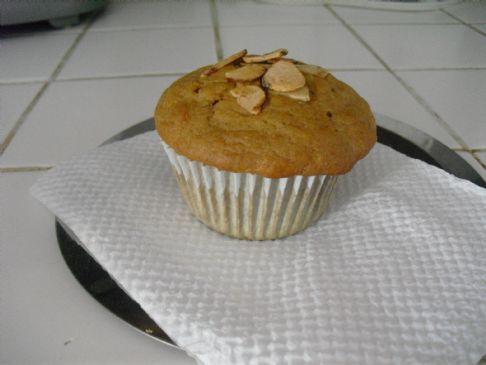 banana bread muffins- no sugar added