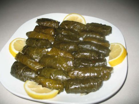 Warak Einab - Stuffed Grape Leaves