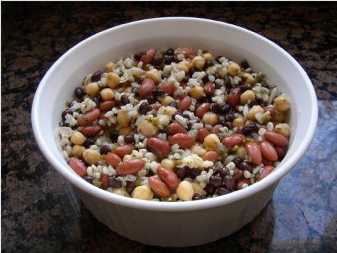 Spicy Bean and Barley Salad
