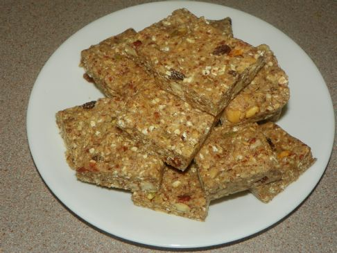 Raw Vegan Protein Bar