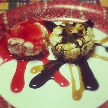 Low calorie mini cheesecakes