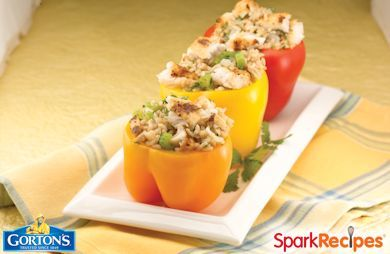 Tilapia Stuffed Peppers