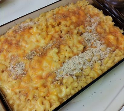 Better Baked Mac & Cheese