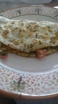 Greek Omelet (1% feta cheese)