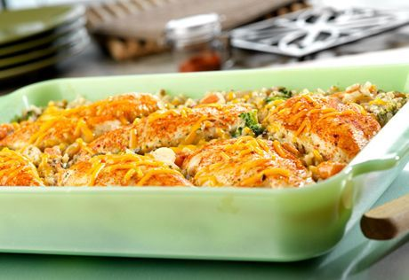 Chicken & Vegetable Casserole