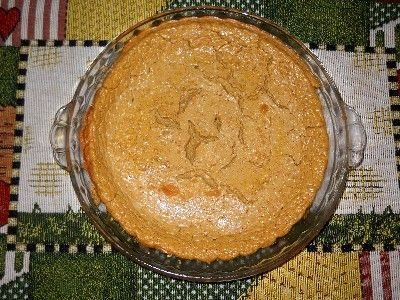 Guilt-free Pumpkin Cheesecake