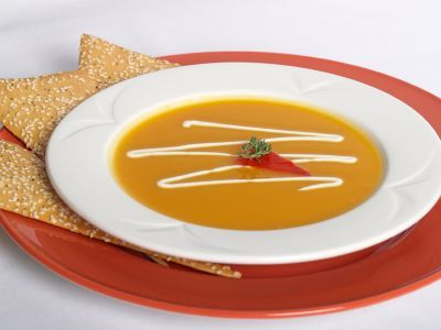 Slow Cooker Winter Squash Soup