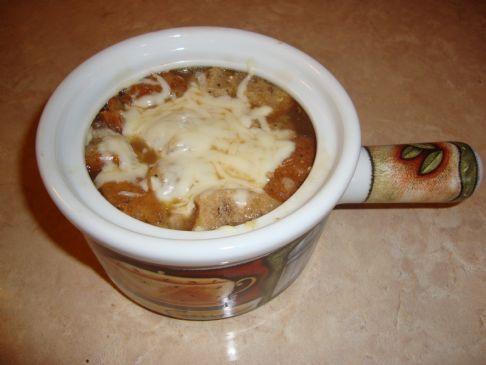 Rachel's Skinny French Onion Soup
