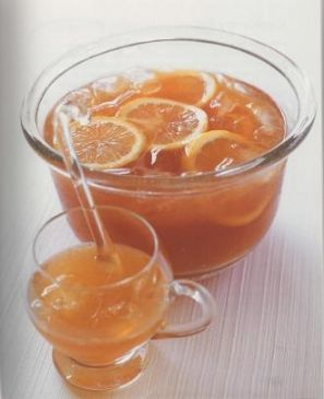 Pink Grapefruit Citrus Punch