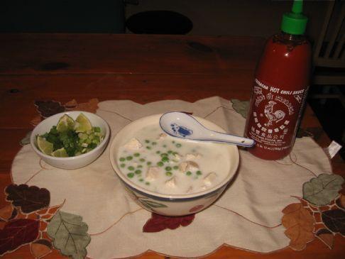 Easy Coconut Chicken Soup