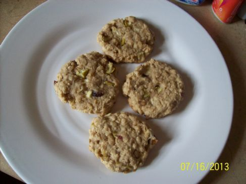 NO EGG GREEN APPLE,CRAISINS,TOFFEE,OATMEAL COOKIES