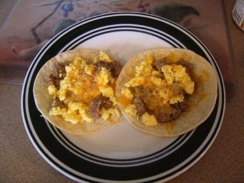 CMR Breakfast Egg Tortillas