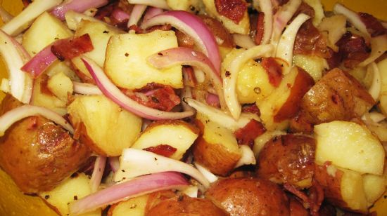 Warm Red Potato Salad