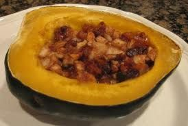 Harvest Stuffed Acorn squash