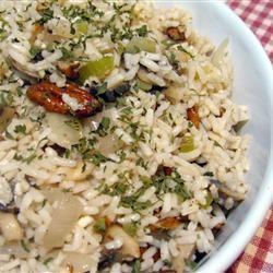 Wild/Brown Rice & Barley Mushroom Pilaif