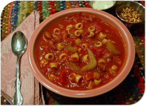 slow cooker vegetarian olive garden pasta e fagioli soup - Olive Garden Vegetarian