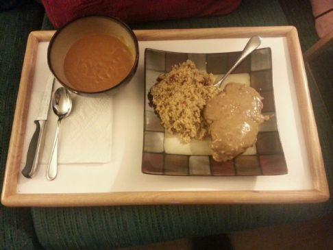 Chicken Breast w/ Spicy Peanut Yogurt Sauce